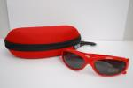 School Shades - Sunglasses - Red image